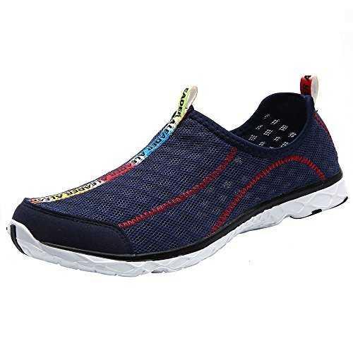 c62e7713c844 ALEADER Men s Mesh Slip-On Water Shoes