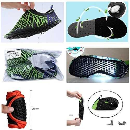 CIOR Men Women and Kids Quick Dry Water Shoes