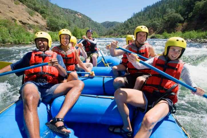 Best Water Shoes for White Water Rafting