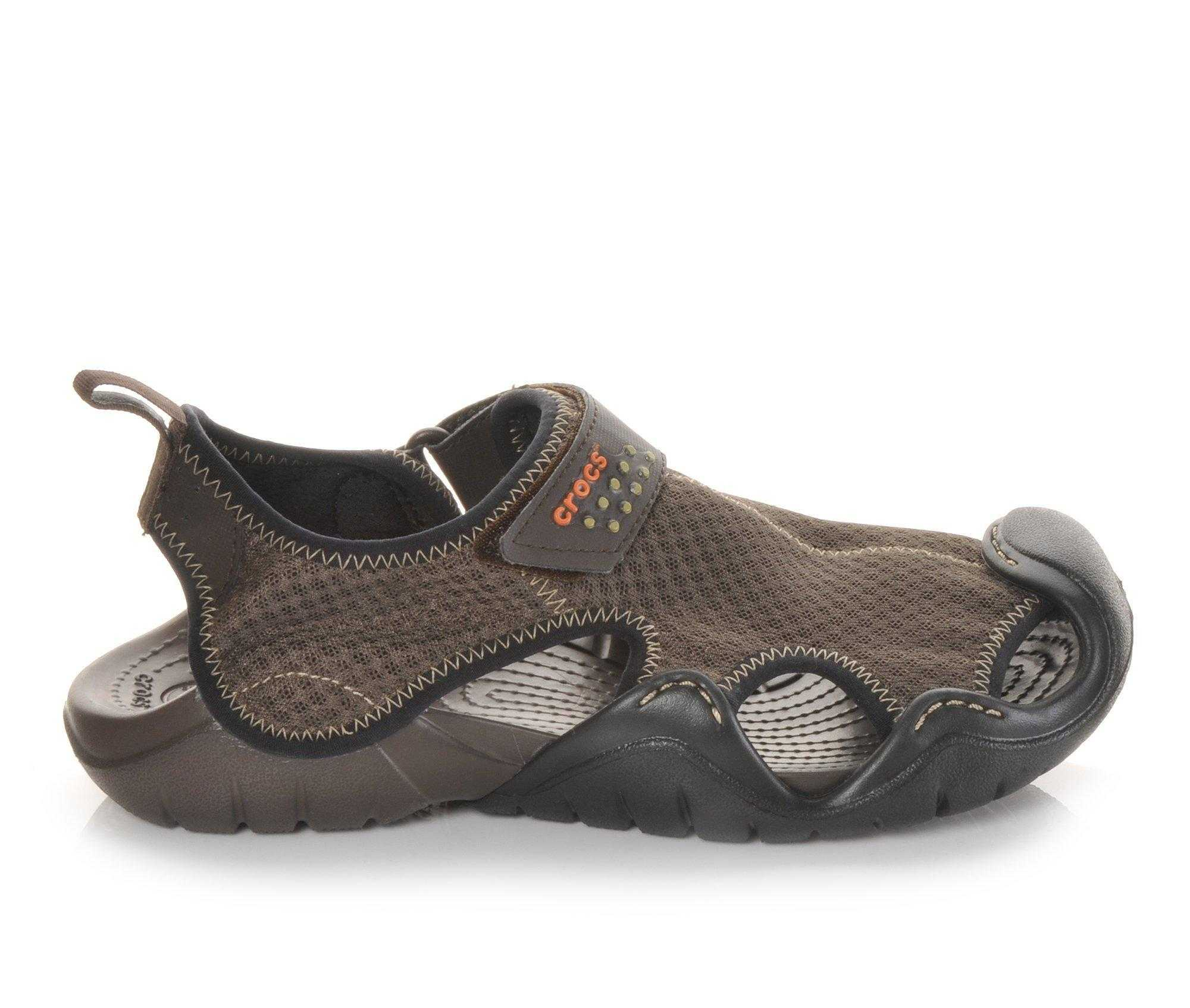 Crocs Men's Swiftwater Mesh Sandal: Kayak Fishing